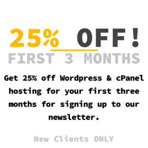 25% off three months